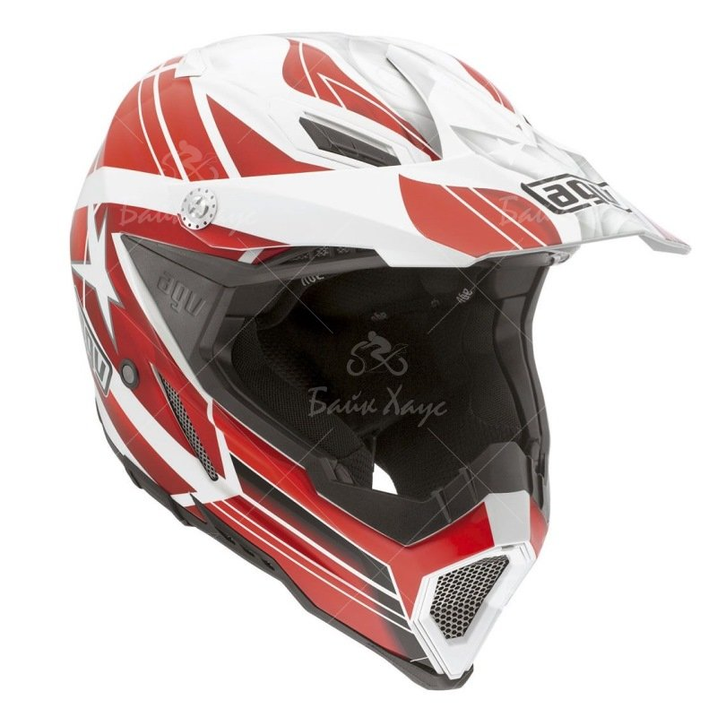 ШЛЕМ AX-8 EVO MULTI FLAGSTARS AGV