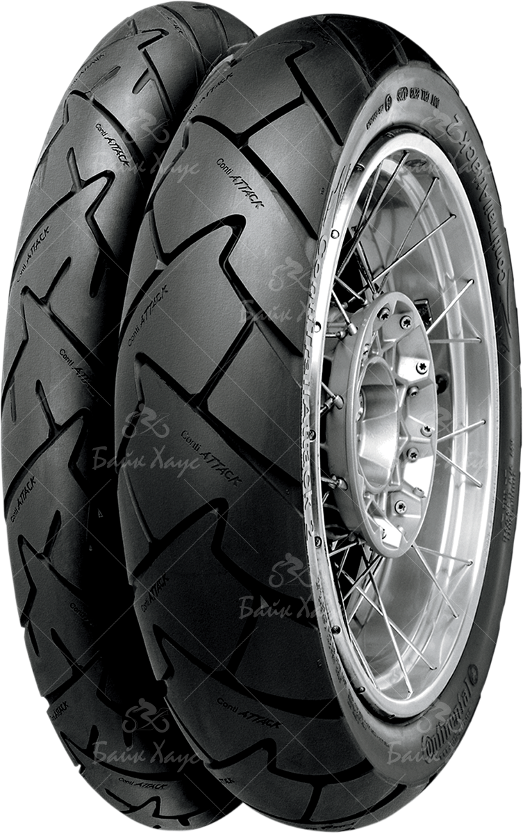 МОТОПОКРЫШКА 190/55R17 75W CONTITRAILATTACK22 TRACTION SKIN CTA2 M/C REAR CONTINENTAL TL 2442970000