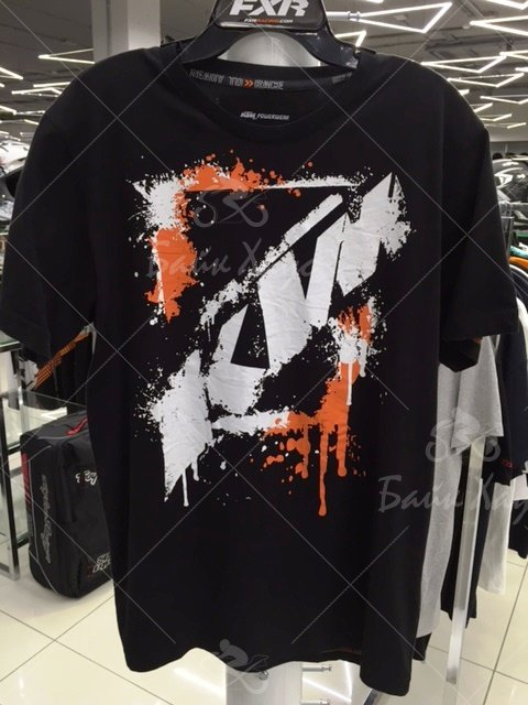 ФУТБОЛКА BIG SPRAY TEE (3PW15563) KTM