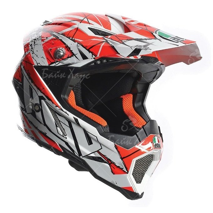 ШЛЕМ AX-8 EVO MULTI SCRATCH AGV