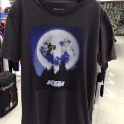 ФУТБОЛКА OUTER SPACE TEE (3PW15668) KTM