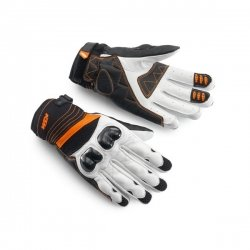 ПЕРЧАТКИ RADICAL X GLOVES WHITE ((3PW141730) KTM